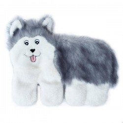 ZippyPaws Squeakie Pup - Husky