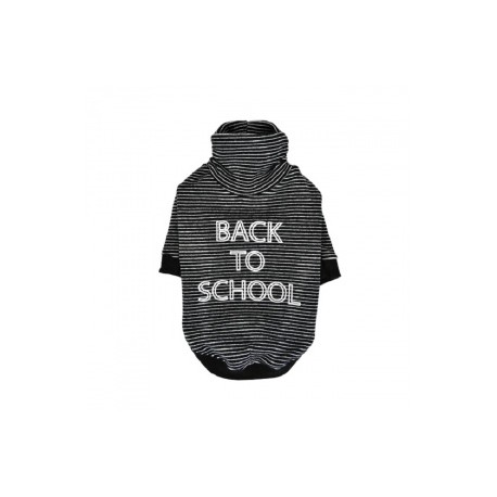 BACK TO SCHOOL mikina pro psy - černá