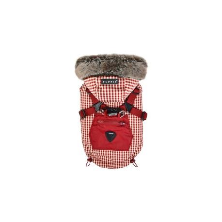 BELLAMY bunda pro psy - červená