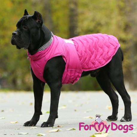 Bunda Caparison pink ( pro větší psy)
