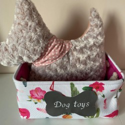 Box na hračky pro psy vlna
