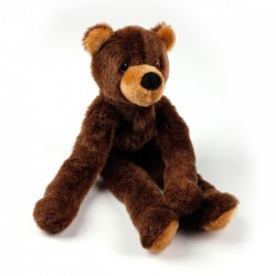 Plyšový medvěd s provazy uvnitř