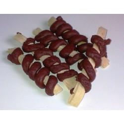 Twister kachní s plátky z tresky