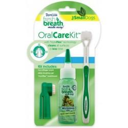 Oral Kit S - gel s kartáčky - pro psy