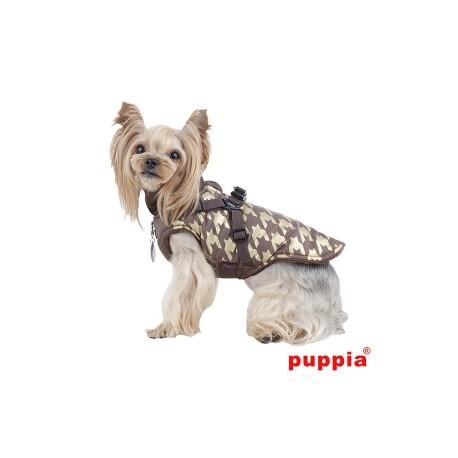 Vesta pro psy DOGSTOOTH hnědá