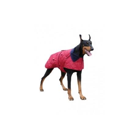 Kabát pro velké psy COMMUTER vínová