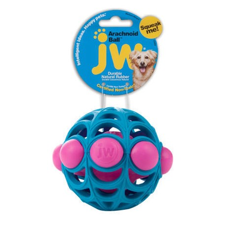 JW Pískací míček Arachnoid Medium