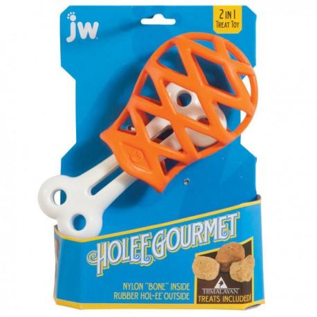 JW Hol-EE Gourmet Děrované stehno Small
